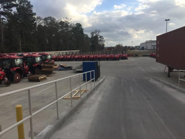 MIQ Logistics Forklifts